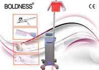 China Low Level Therapy Laser Hair Growth Machines 650nm With Ozone High Frequency Comb factory