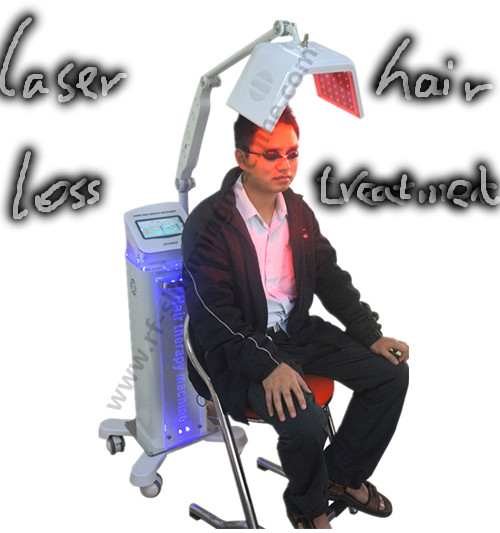 Low Level Therapy Laser Hair Growth Machines 650nm With Ozone High Frequency Comb