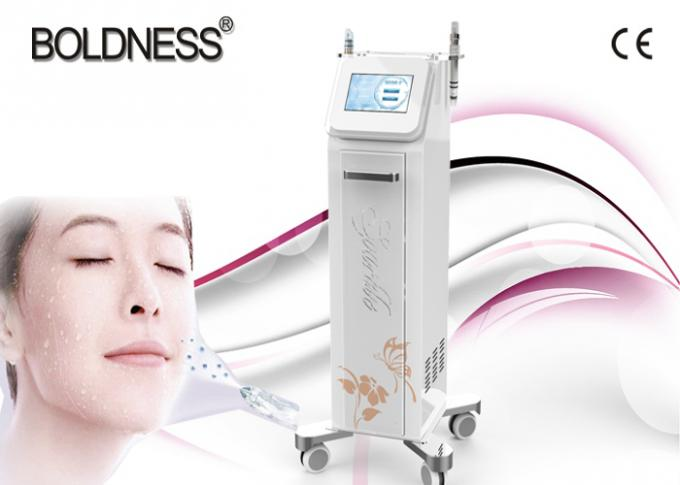 High Frequency Jet Peel Water Oxygen Facial Machine , Hydro Oxygen For Wrinkle Removal